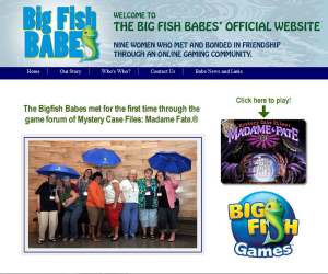 The Big Fish Babes of Big Fish Games