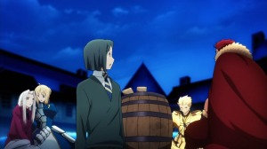 The Grail Dialogue in Fate Zero Episode 11